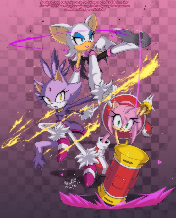 how to draw blaze and rouge