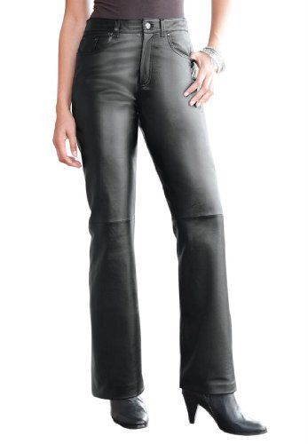 Industries Needs — Jessica London Women's Plus Size Leather Pants...
