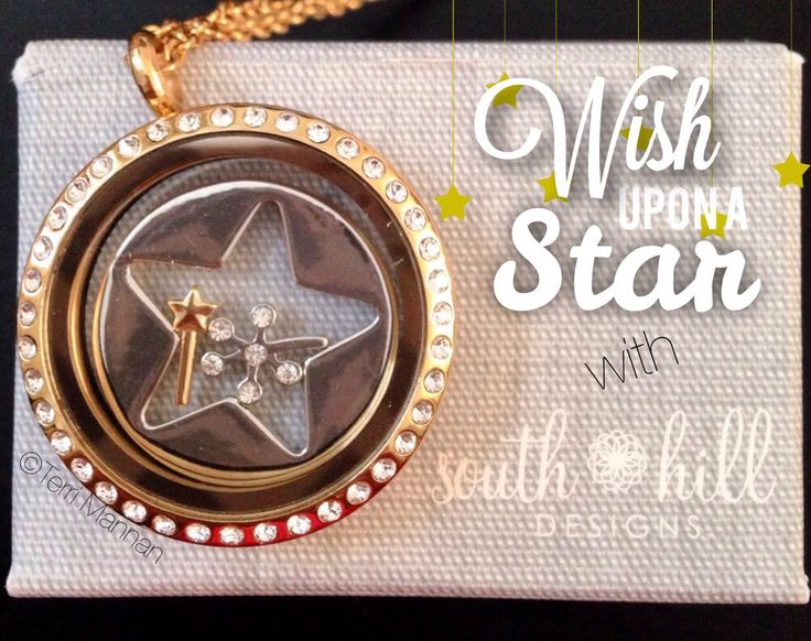 South Hill Designs' new charms and star screen benefitting Make-A-Wish #southhilldesigns #rhonnadesigns #locket #makeawishfoundation