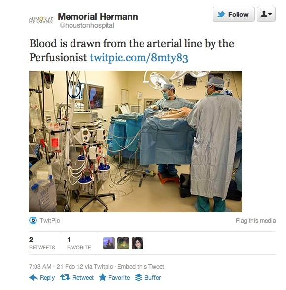 Taking Twitter to the operating room