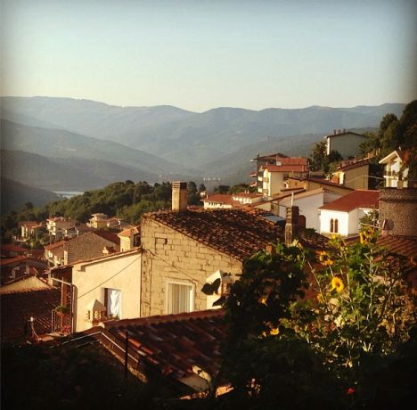 Gavoi at Sunrise. http://www.sarahwilson.com/2013/09/slow-food-and-hiking-guide-to-sardinia-1/