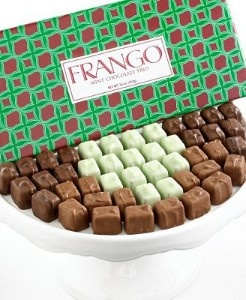 Frango chocolates  Oh my god - probably a good thing that they don't ship over to the UK!