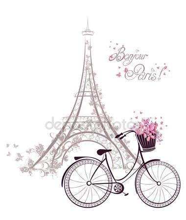 Torre Eiffel Paris Francia Ilustracion De Stock Torre Eiffel Dibujo Decoracion Torre Eiffel Tatuajes Torre Eiffel
