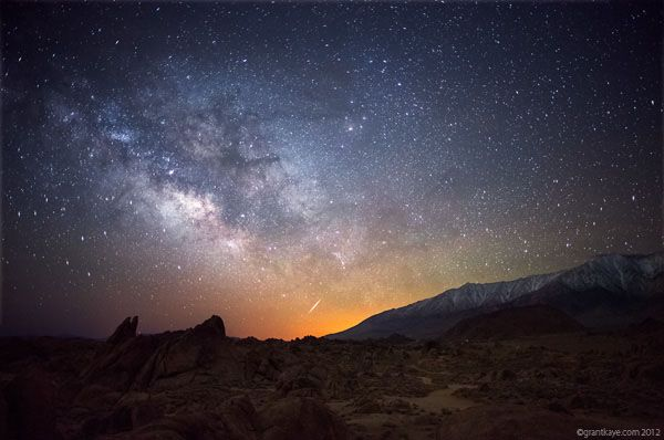 Night Photography Tips for Standout Images. Photo by Grant Kaye_Alabama Hills Milky Way