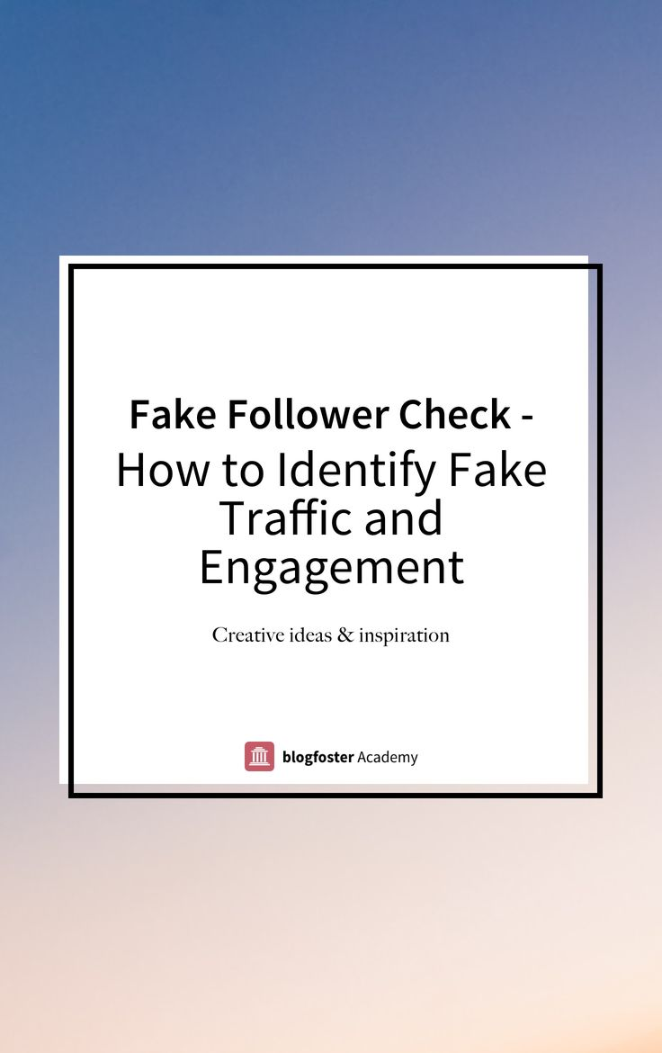 It's never been so easy to buy fake followers and engagement. Find out how to identify fake followers and fake engagement in 4 easy steps