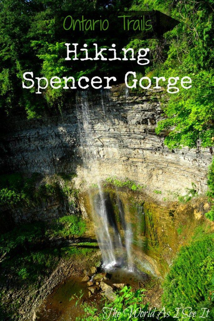 Ontario Trails: Hiking Spencer Gorge
