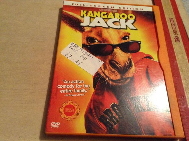 Kangaroo Jack (DVD, 2003, Full Frame) Jerry O'Connell,   Buy any 2 get 3rd free | DVDs & Movies, DVDs & Blu-ray Discs | eBay!