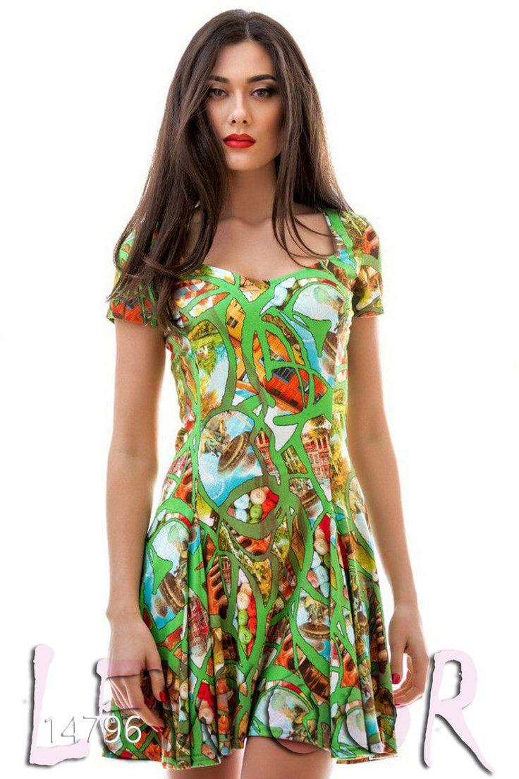 Милое городское платьице из тонкой замши - купить оптом и в розницу, интернет-магазин женской одежды lewoor.com