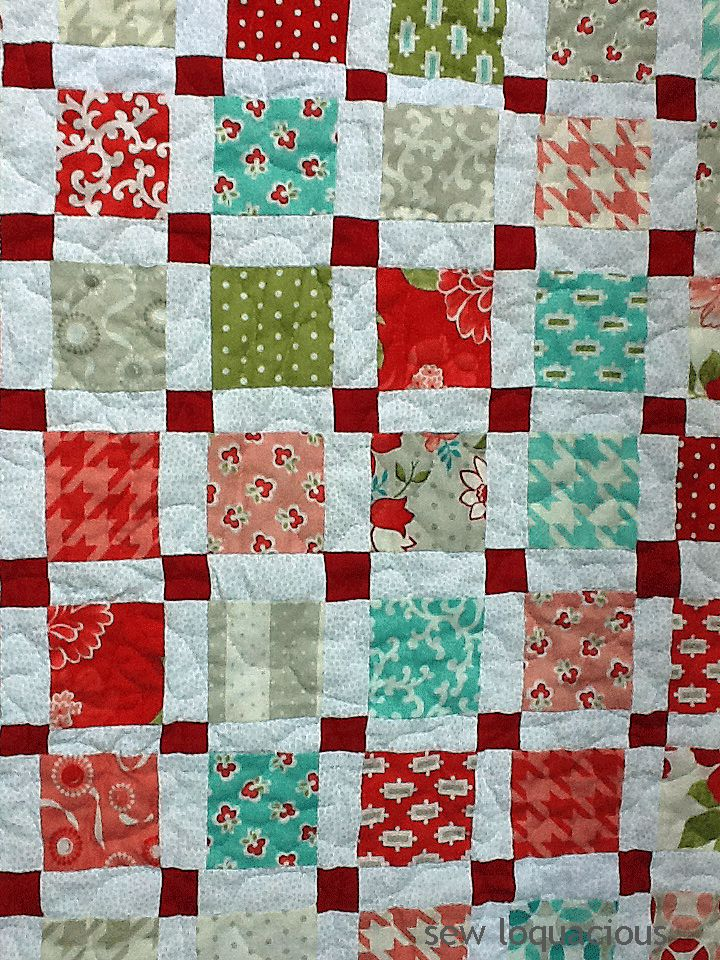 Christmas Charm Quilt Pattern
