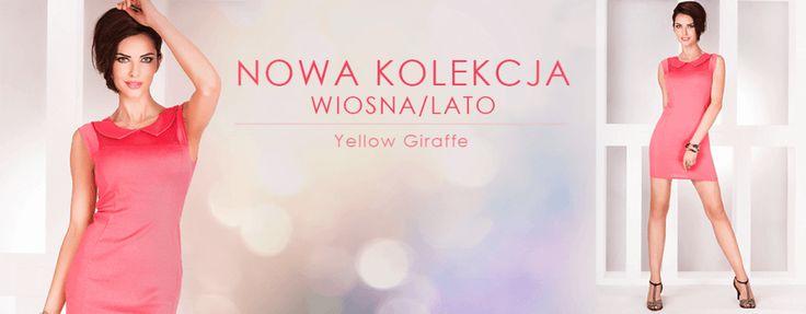 Nowa kolekcja wiosna/lato 2016! Shop online! www.yellow-giraffe.pl