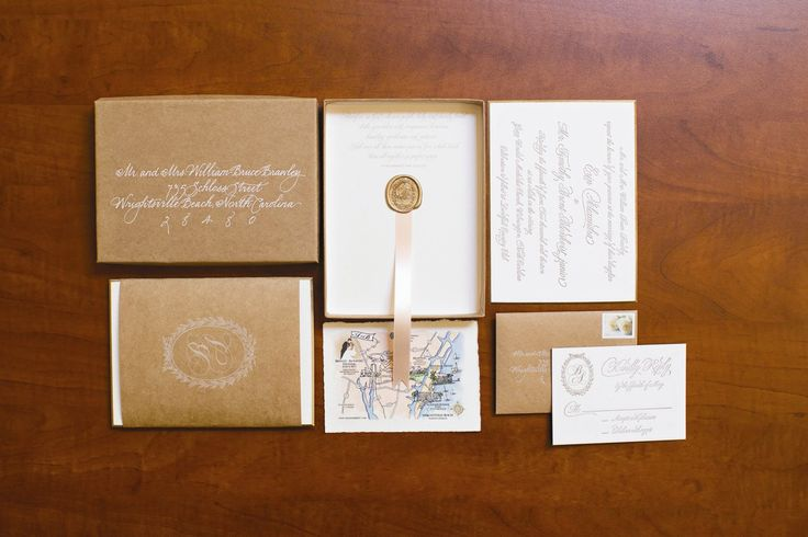 Rustic and Formal Invitation Suite