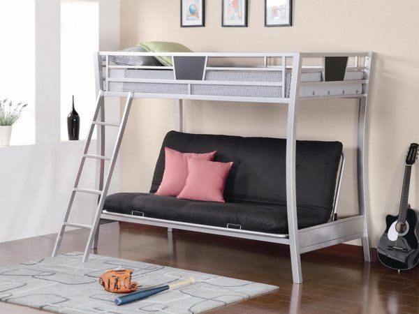 10 Trendy Bunk Bed Couch Designs Cool Beds Loft Plans