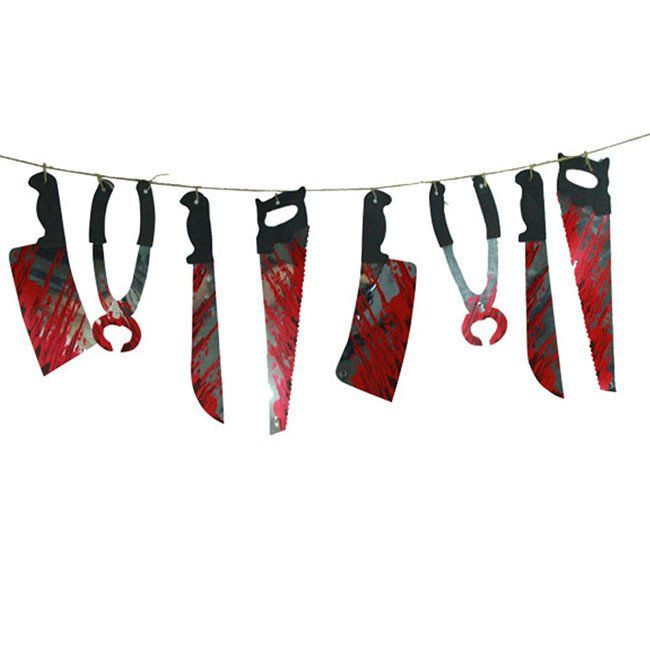 Halloween Party Haunted House Hanging Garland Pennant Banner Decoration