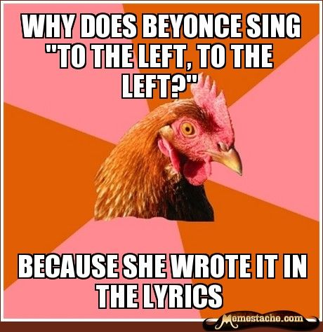 Anti-Joke Chicken - Memestache