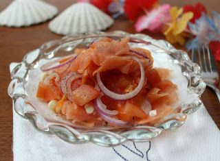 """Denny Chef Blog: Insalata Hawaiana """"lomi lomi"""""""