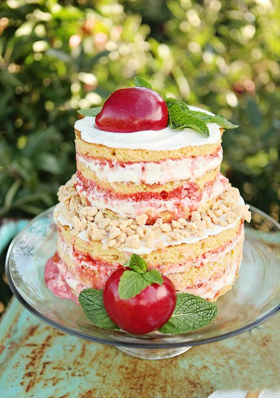 Naked Apple Crumb Cake