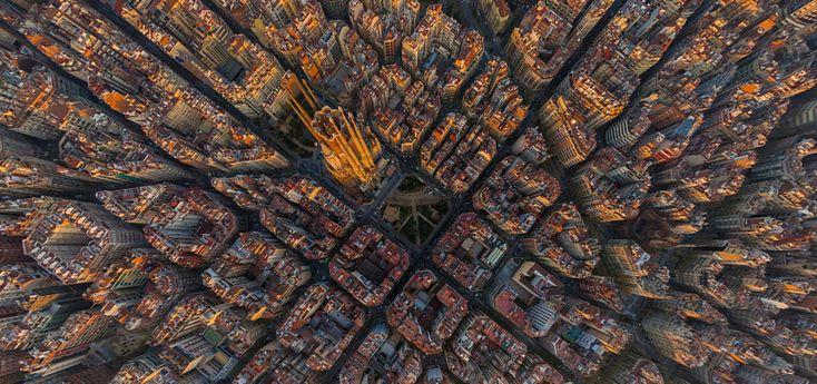Sagrada Família, Barcelona, Spain by AirPano on 500px.com