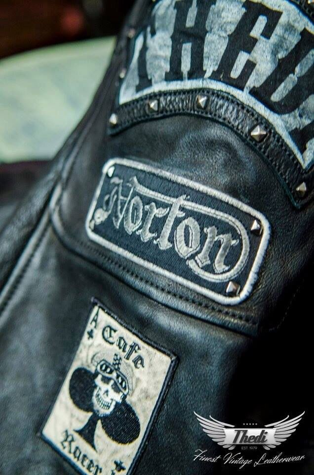 Leathers THEDI LEATHERS http://caferacercult.gr/editorial/thedi-leathers-thessaloniki-ellada.html