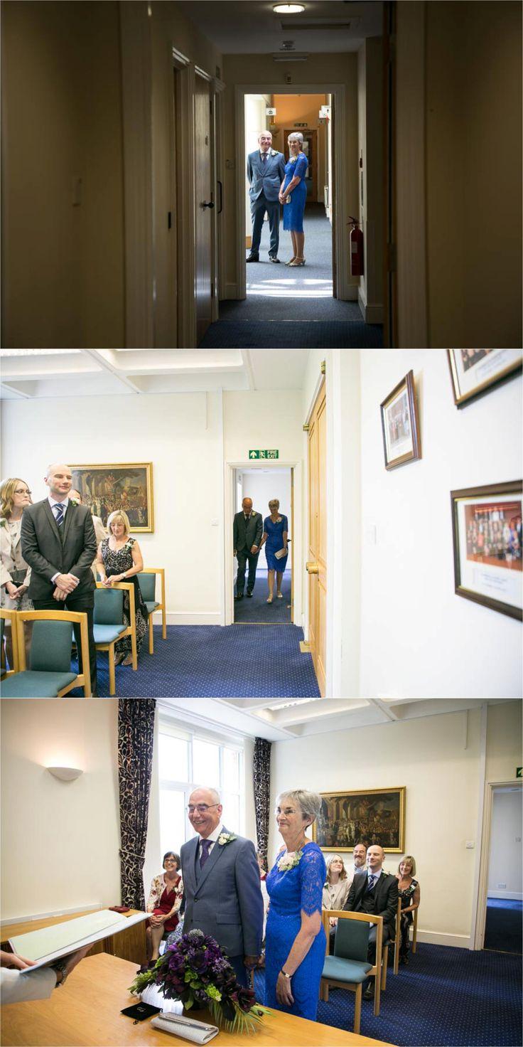 fun wedding photography at saffron walden register office