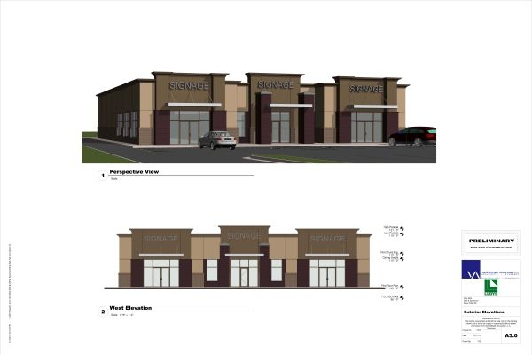 strip mall design
