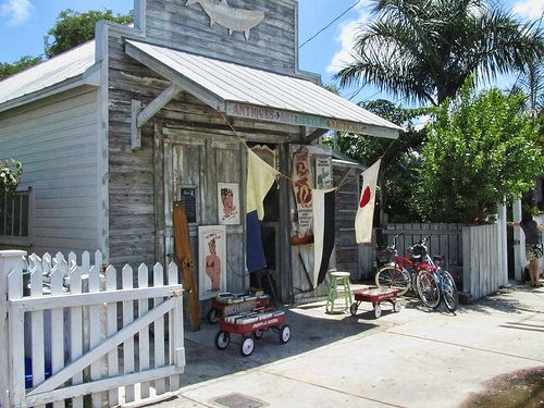 Caroline Street, Key West - Antique Shop. They have cool nautical artifacts too.