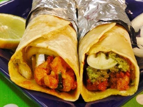 Chicken Kathi Roll - Yummy Indian Recipe