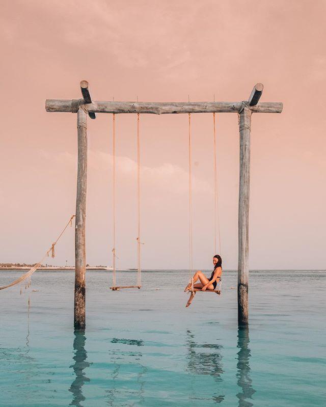 Perfect Swing In Zaya Nurai Island Abu Dhabi Bonjoursunset Dubai Travel Dubai Travel Guide Abu Dhabi Travel