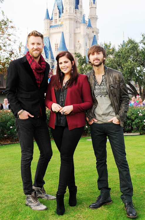 Lady Antebellum at Disney world
