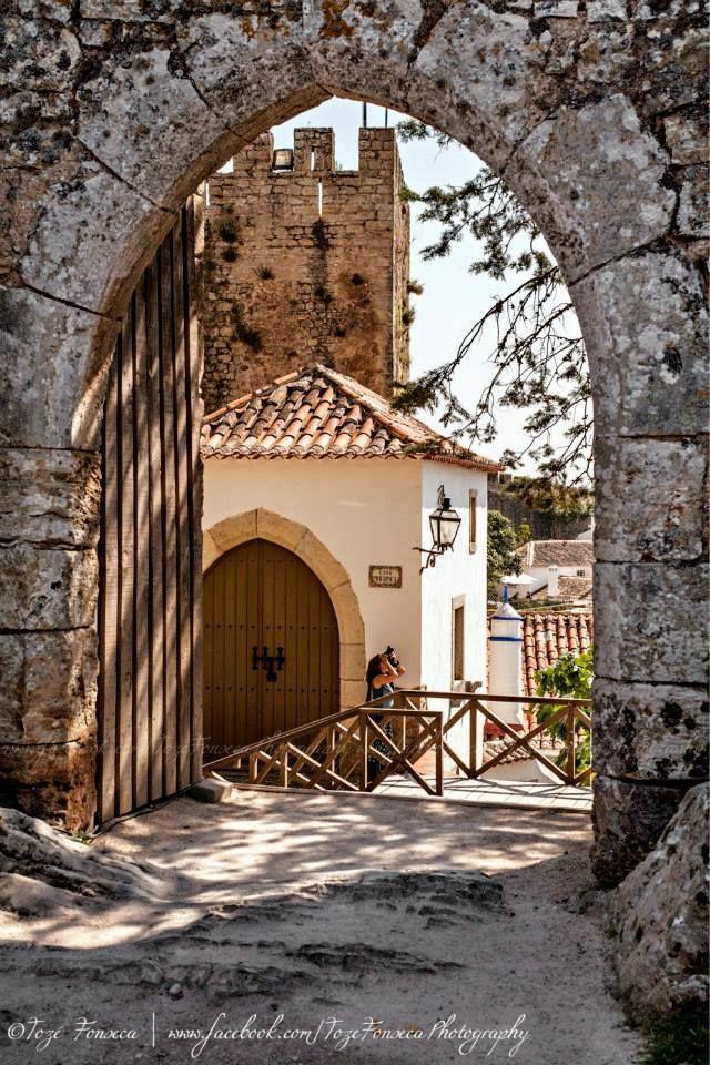 Óbidos a village inside a medieval castle & walls #Portugal