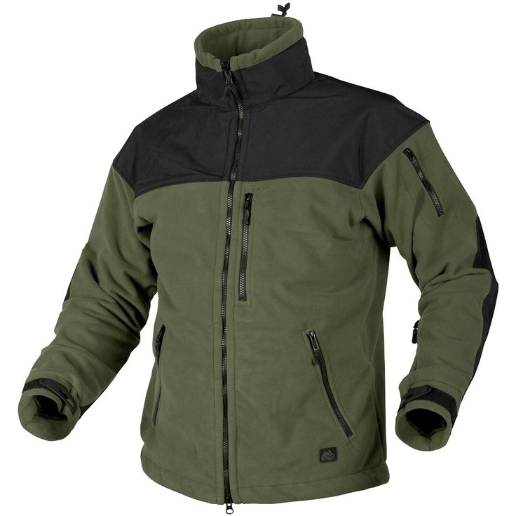 Helikon Classic Army Fleece with Membrane Olive/Black | Fleeces | Military 1st