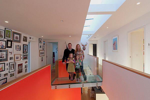 Jim Lucas, Jennifer Mole and family