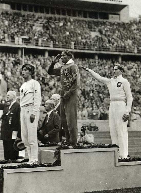 1936 Olympics - Jesse Owens smashing Hitler's theories of racial superiority on the 100m sprint is an oft repeated story.