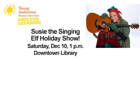 2016 Event - Get in the holiday spirit! A Young Audiences Second Saturday performance for all ages!