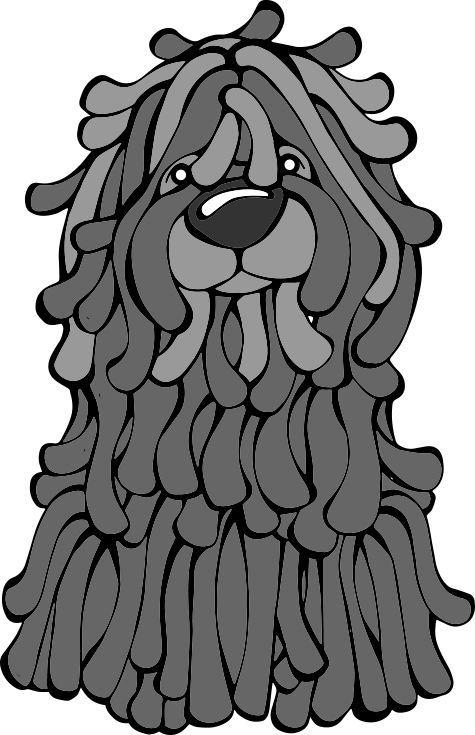 """Képtalálat a következőre: """"puli kutya rajz""""   Humanoid ..."""