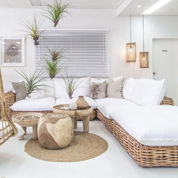 Zulu Indoor Modular Sofa   Ottoman   White – Uni…
