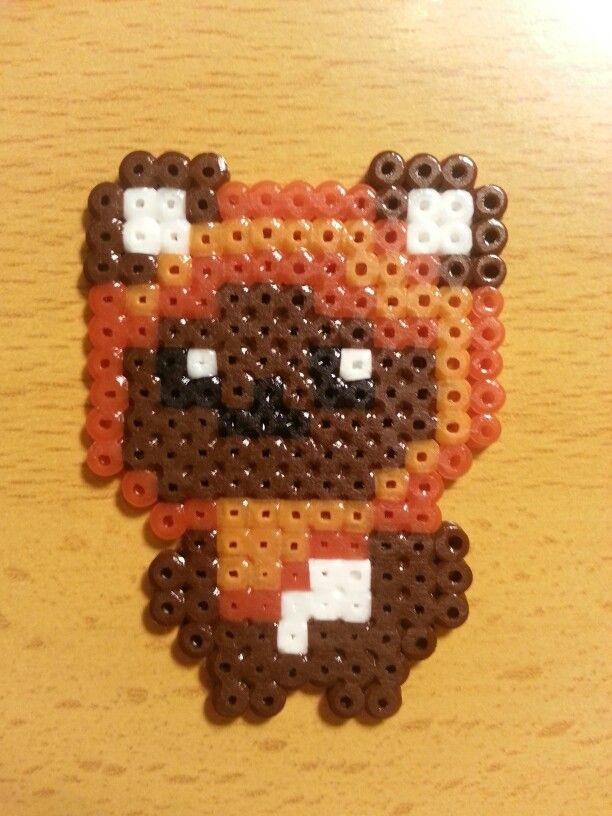 Ewok Star Wars hama perler beads by Carlos Gomez-Pabon Diaz