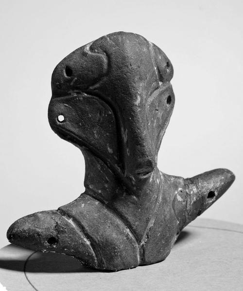 Figurine / Vinčanska kultura (Vinca/Vinča Culture), 8000–4000 BCE (Belgrade Museum, Serbia)