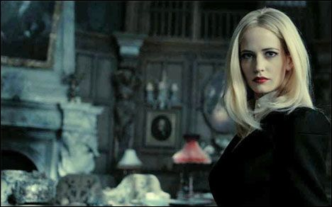 Eva Green (Angelique Bouchard) in Dark Shadows Movie ~ Warner Bros.