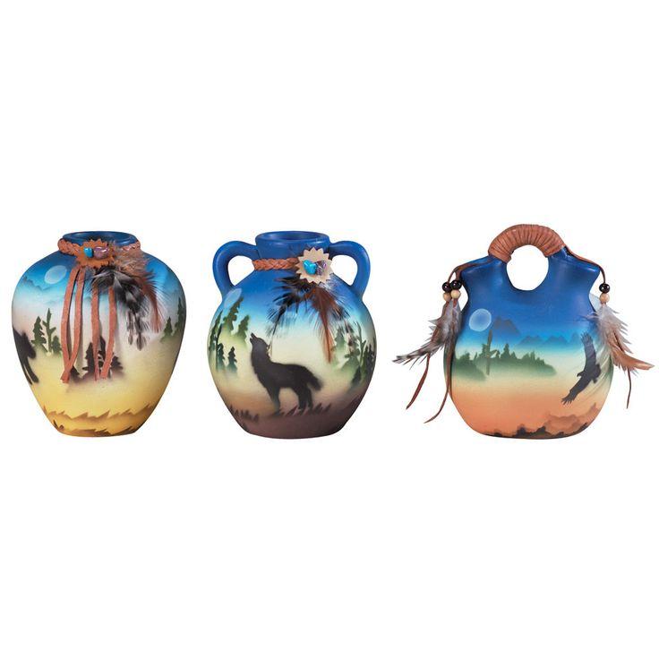 Miniature Southwestern Vases