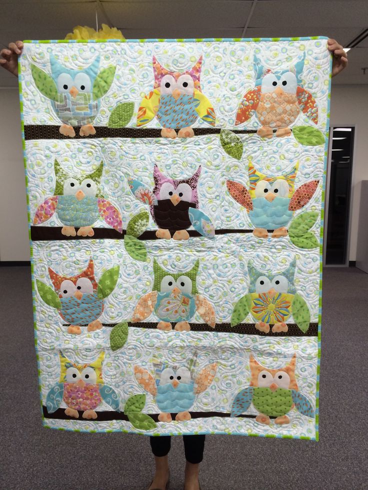 Owls for the maker's great niece.