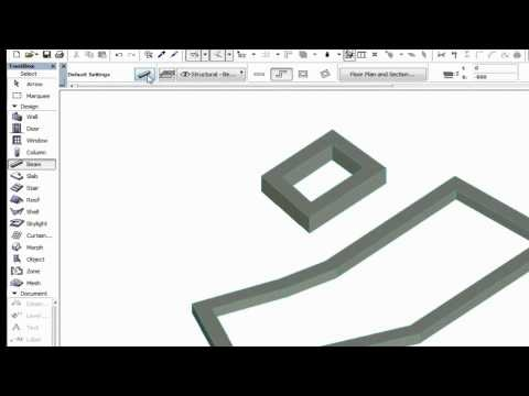 The Beam Tool in ArchiCAD