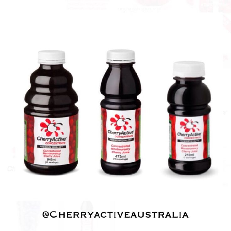 Our CherryActive montmorency cherry juice! Great for sports recovery, sleep, gout and high in antioxidants!
