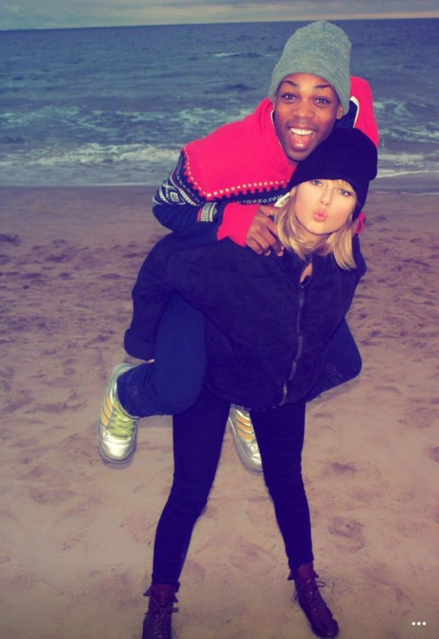 Taylor Swift and Todrick Hall