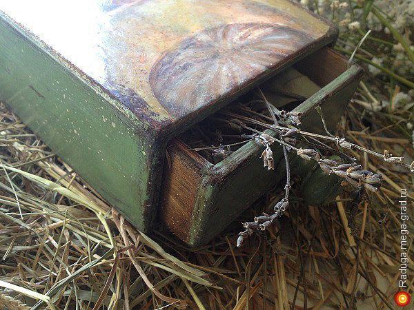 """Короб """"Волшебная скрипка"""" - Авторская работа, подарки на крещение, пасху. МегаГрад - online выставка-продажа авторской ручной работы"""
