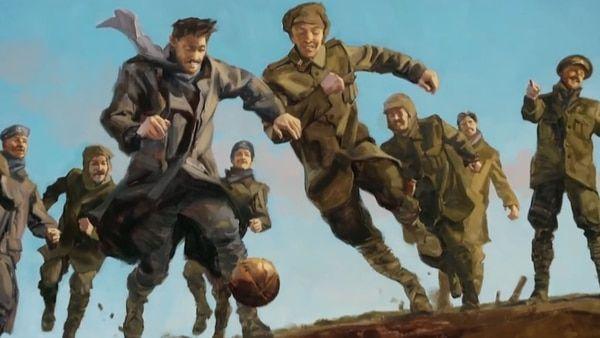 Tregua de Navidad: el día que el fútbol detuvo una batalla de la Primera Guerra Mundial - Infobae