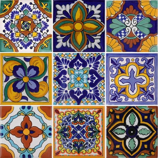 Mexican Tile - Mixed TNMed Tile Set N.1 - x1001
