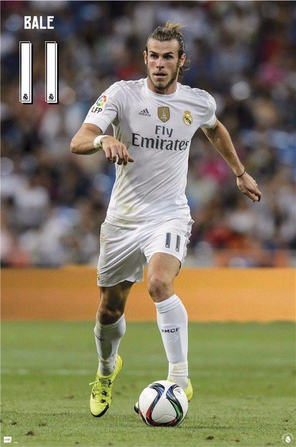 """Gareth Bale Welsh Football Star Art Wall Poster 36/""""x24/""""  035"""