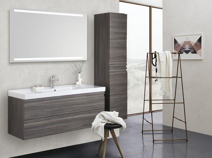 Your new bathroom – your choice  Choose between four durable washbasin models made from sanitary porcelain, each with its own expression and create your own style with one of the three attractive finishes.