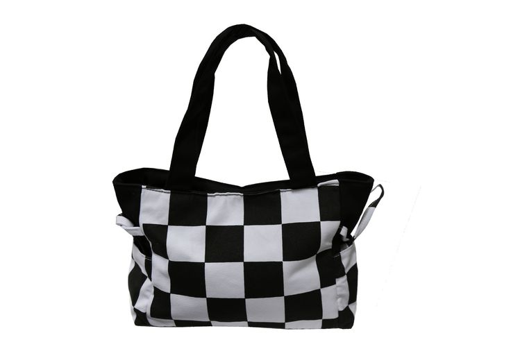 Checkered Flag Handbag