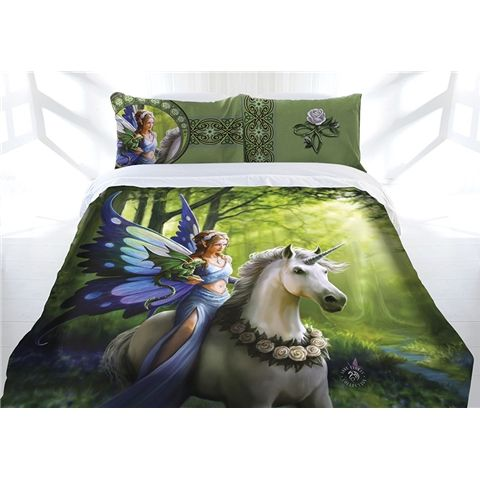 Anne Stokes Realm of Enchantment Double Queen or King Size Doona Quilt cover set.  Available at Kids Mega Mart Shop Australia www.kidsmegamart.com.au